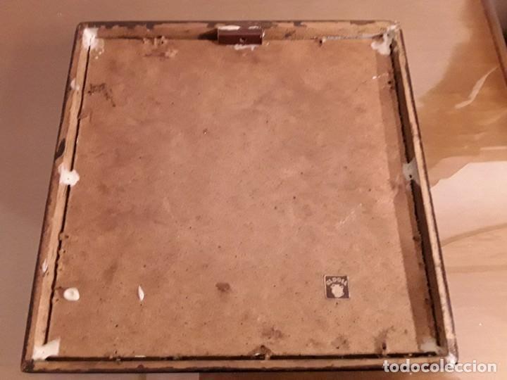Antigüedades: PAREJA DE AZULEJOS CATALANES OFICIOS SILICOR - BARCELONA - MADE IN SPAIN - Foto 5 - 107937107