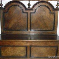 Antigüedades: BANCO DE MADERA. Lote 107962807