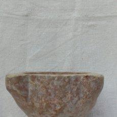 Antigüedades: ANTIGUO MORTERO DE PIEDRA DE JASPE, TIPO SANTA TECLA. Lote 107987740