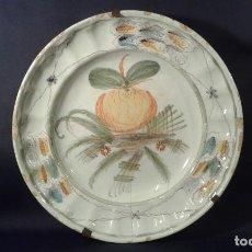 Antigüedades: PLATO CERÁMICA. RIBESALBES. VALENCIA. SIGLO XIX.. Lote 107993003