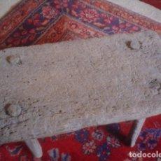 Antigüedades: RARO BANCO DE MATANZAS RURAL ARTE ETNICO SIGLO XIX IDEAL MUSEO. Lote 107997131