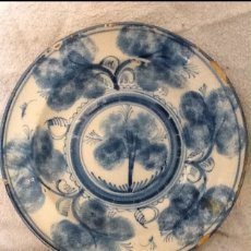 Antigüedades: PLATO CERÁMICA RIBESALBES. Lote 108018127