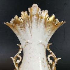 Antigüedades: CENTRO DE MESA. PORCELANA ESMALTADA. ESTILO ISABELINO. SIGLO XX. . Lote 108038303