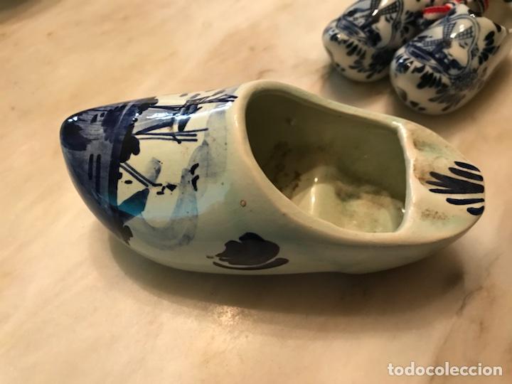 Antigüedades: Cenicero-Zueco porcelana Delft, Holanda, años 70 - Foto 3 - 108043638