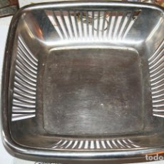 Antigüedades: BANDEJA PONGO - TODO DE METAL *** 20 X 20 CMS *** DECORACION. Lote 108202655
