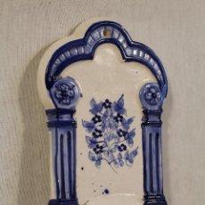Antigüedades: BENDITERA EN CERAMICA . Lote 108212299