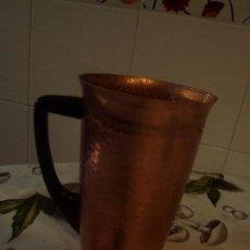 Antigüedades: JARRA DE ALUMINIO ANODIZADO. Lote 108225099