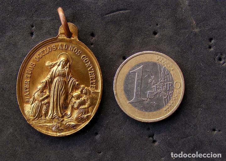 MEDALLA, RELIGIOSA (Antigüedades - Religiosas - Medallas Antiguas)