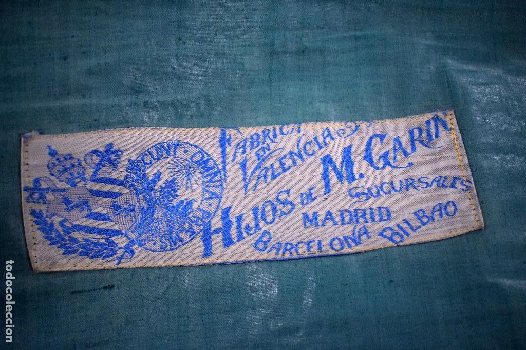 Antigüedades: Antigua Casulla de espolín Hijos de M Garín con galón ancho - Foto 2 - 172953542