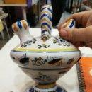 Antigüedades: TALAVERA BOTIJO ANTIGUO ¡ESPECTACULAR!. Lote 108304819