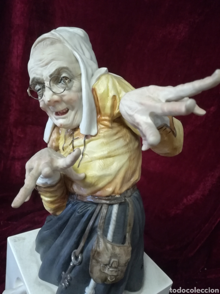 Antigüedades: Bruja porcelana algora en perfecto estado - Foto 3 - 108310450