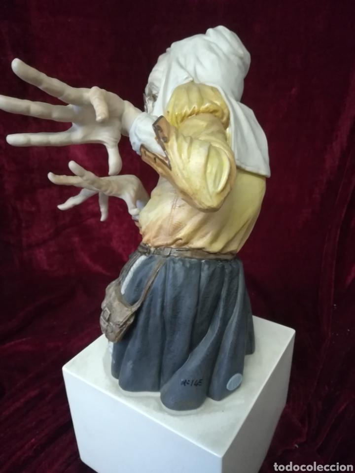 Antigüedades: Bruja porcelana algora en perfecto estado - Foto 4 - 108310450