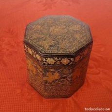 Antigüedades: CAJA DE TÉ SIGLO XIX . Lote 108333355