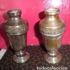 Antigüedades: JARRONES O FLOREROS ANTIGUOS. Lote 108340551