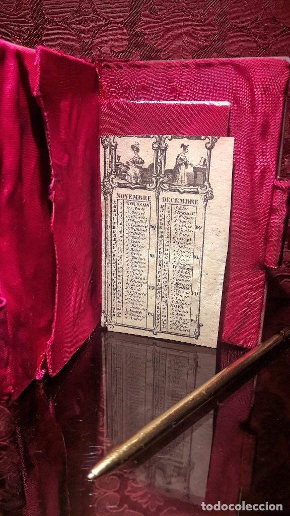 Antigüedades: Agenda carnet de baile en nácar siglo XIX - Foto 4 - 108353903