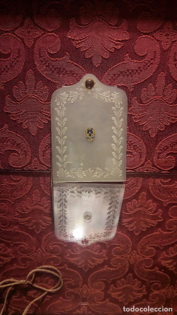 CARNET DE BAILE EN NÁCAR SIGLO XIX (Antigüedades - Moda - Otros)