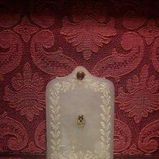 Antigüedades: CARNET DE BAILE EN NÁCAR SIGLO XIX. Lote 132162290