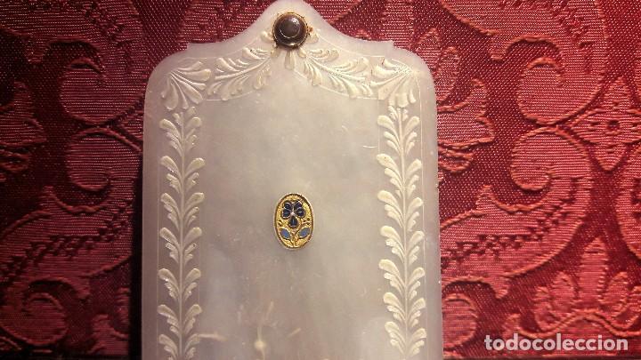 Antigüedades: Carnet de baile en nácar siglo XIX - Foto 2 - 132162290