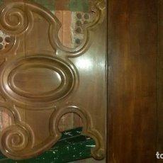Antigüedades: CAMA ISABELINA DE CAOBA / DITADA. Lote 108415091