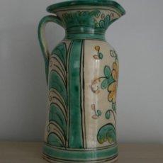 Antigüedades: JARRA DE CERÁMICA LOZA ESMALTADA ANTIGIO ALFAR TRADICIONAL DE PUENTE DEL ARZOBISPO – NUMERADA SELLO . Lote 108417987
