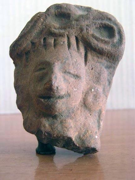 Antigüedades: Cabeza figura precolombina / Terracota - Foto 4 - 104703607