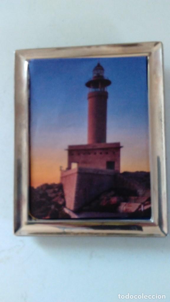 marco rectangular de plata con contraste. 12 cm - Comprar Plata de ...