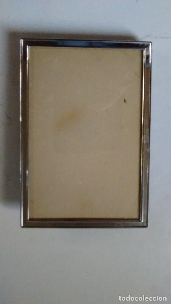 marco de plata 925 rectangular. con contraste. - Comprar Plata de ...