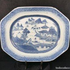 Antigüedades: PLATO CHINO CHINA PORCELANA CANTON SIGLO XIX. Lote 108451787