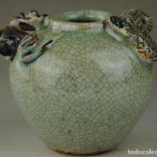 Antigüedades: CHINA , TARRO DE PORCELANA , SIGLO 19, CON SELLO POCO USUAL. Lote 108451947