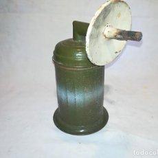 Antigüedades: FAROL DE CARBURO MILITAR - POSIBLEMENTE MARCA HISPANIA. Lote 108458535