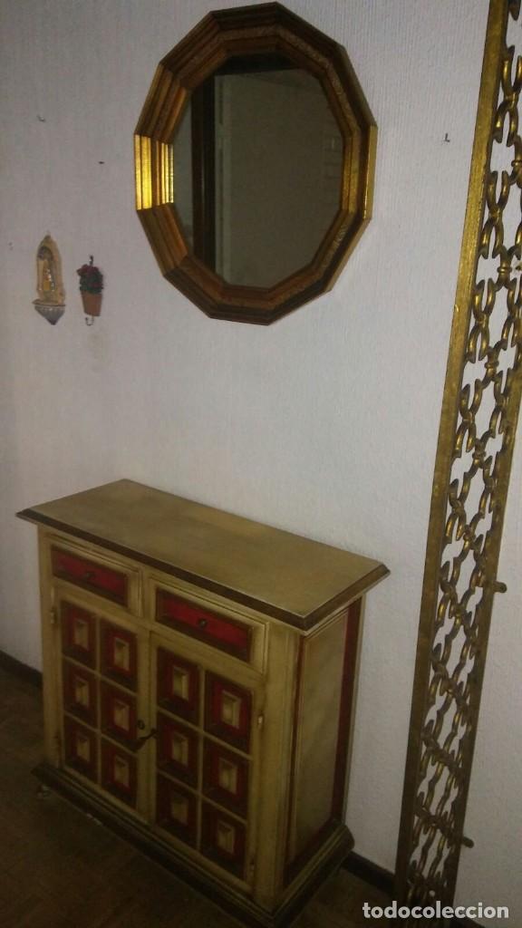 espejo marco de madera color dorado - Comprar Espejos Antiguos en ...