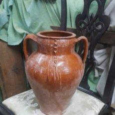 Antigüedades: OLLA VIDRIADA-. Lote 108547611