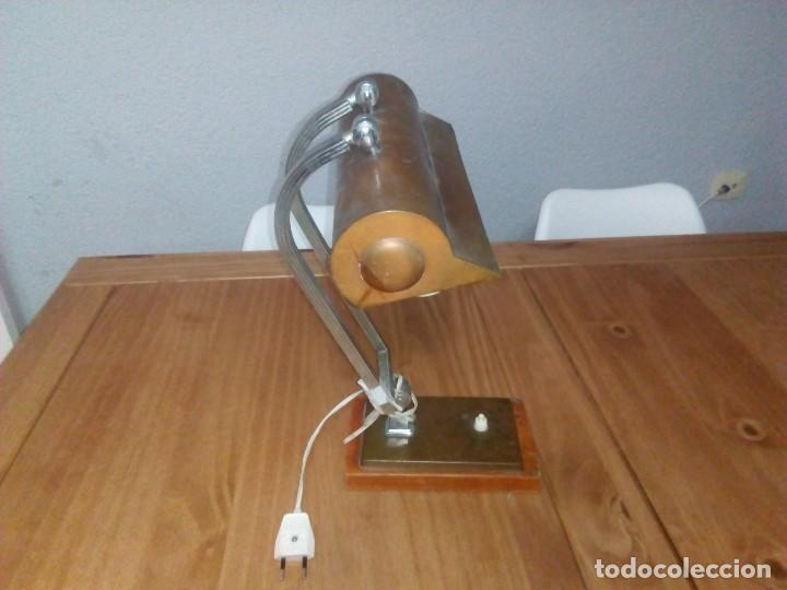 LAMPARA DE.MESA ART DECÓ (Antigüedades - Iluminación - Lámparas Antiguas)