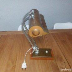 Antigüedades: LAMPARA DE.MESA ART DECÓ . Lote 108671967