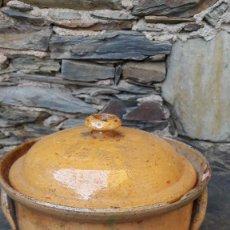 Antigüedades: CAZUELA,COCOTTE EN CERÁMICA. Lote 108719651