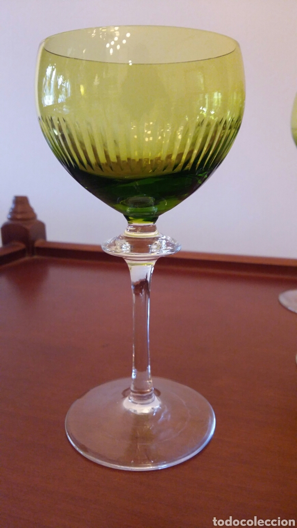 Antigüedades: Lote de 12 copas antiguas - Foto 5 - 108722496