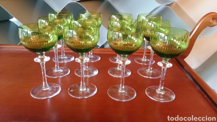 Antigüedades: Lote de 12 copas antiguas - Foto 2 - 108722496