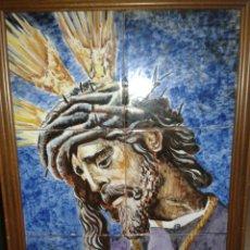 Antigüedades: CUADRO AZULEJOS GRAN PODER DE SEVILLA. Lote 108730248