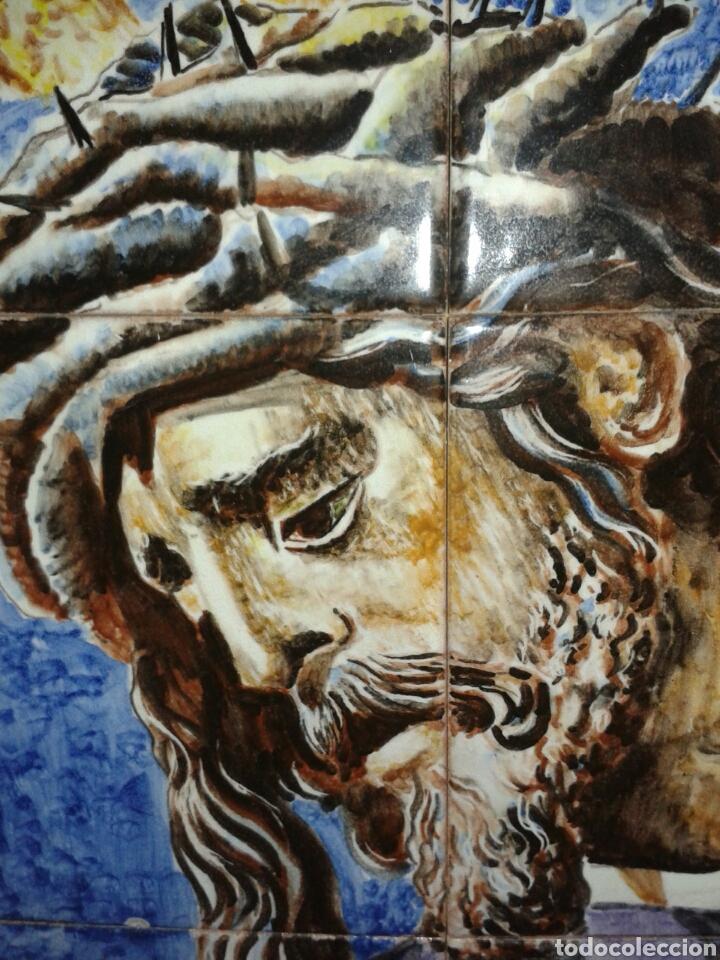 Antigüedades: CUADRO AZULEJOS GRAN PODER DE SEVILLA - Foto 4 - 108730248