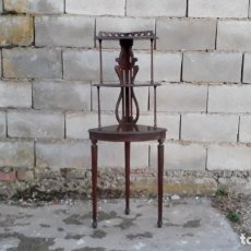 Antigüedades: RINCONERA ANTIGUA RETRO VINTAGE, ESTANTERÍA ANTIGUA, MUEBLE AUXILIAR ANTIGUO. Lote 108756491