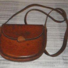 Antiques - bolso bandolera de cuero - 108757131