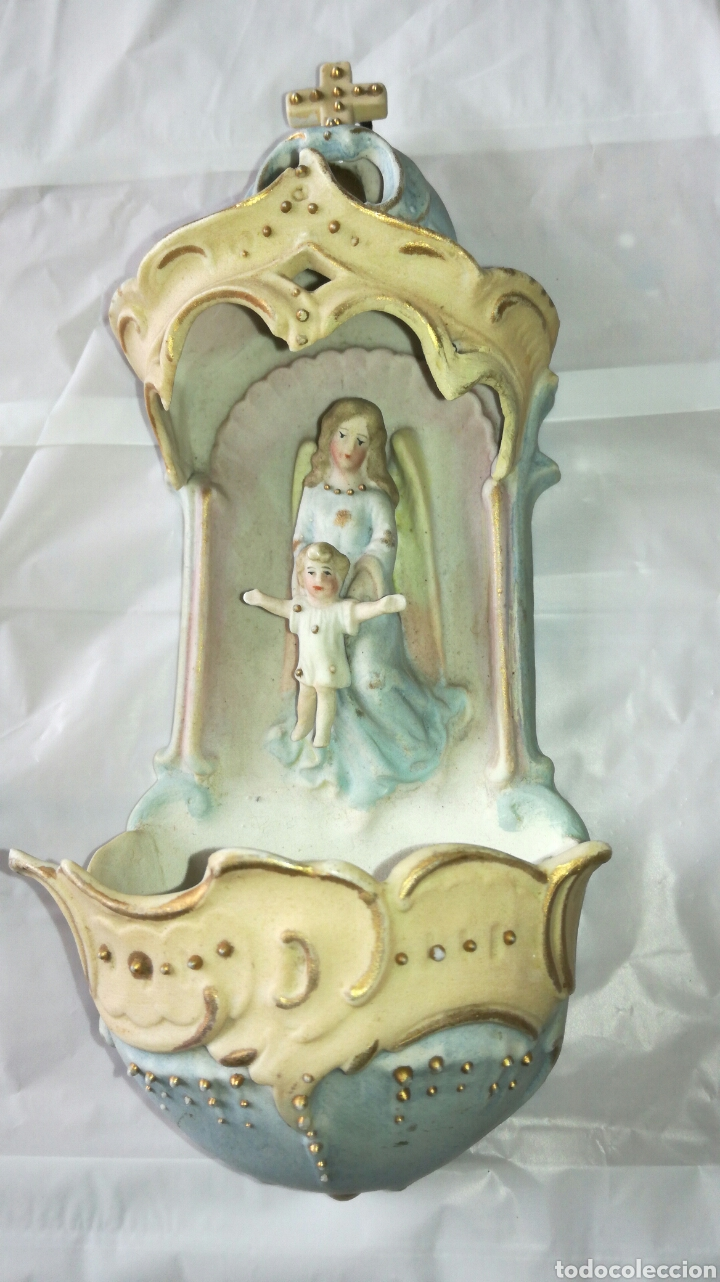 PILA DE VISCUI PERFECTO ESTADO JM / (Antigüedades - Porcelanas y Cerámicas - Otras)