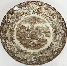 Antigüedades: PLATO DE PORCELANA. ESTAMPADO SERIE ORIENTAL. PICKMAN. SEVILLA. SIGLO XIX-XX. . Lote 108788631