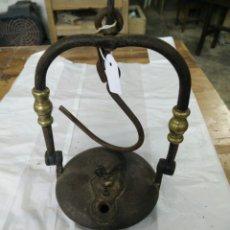 Antigüedades: ANTIGUO VELÓN DE ACEITE. Lote 108804628