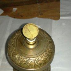 Antigüedades: TIMBRE DE HOTEL DE METAL FUNCIONANDO JM/. Lote 108815743
