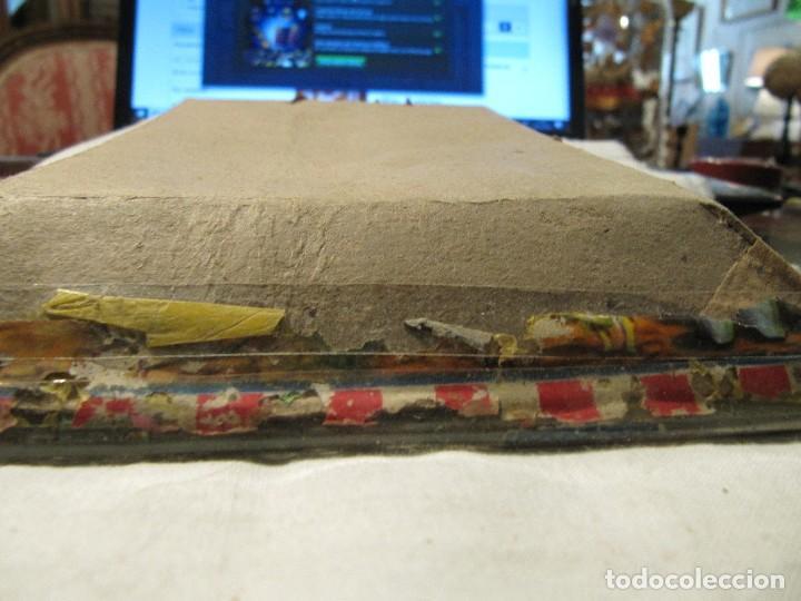 Antigüedades: ANTIGUO CUADRO CON RELIEVE - VIRGEN CON NIÑO - TRABAJO MONJIL - - Foto 4 - 108821815