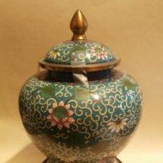 Antigüedades: TIBOR CLOISONNE. Lote 108855183