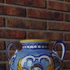 Antigüedades: JARRÓN O ANFORA EN CERÁMICA. EN PERFECTAS CONDICIONES.. Lote 108859055