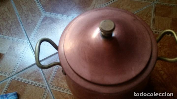 Antigüedades: juegos de ollas antiguas - Foto 2 - 125919928