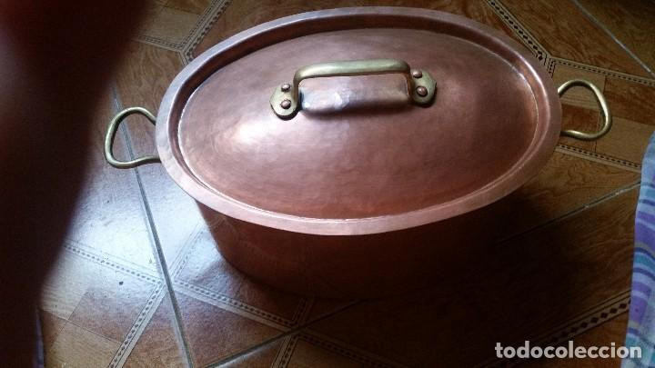 Antigüedades: juegos de ollas antiguas - Foto 5 - 125919928
